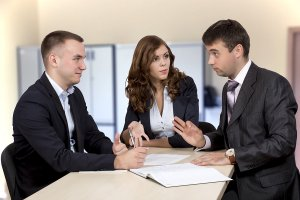 body language during a sales negotiation