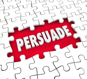 Persuading and influencing skills