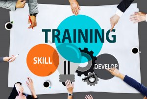on-the-job training of sales people